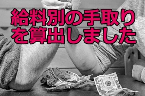給料の手取り画像